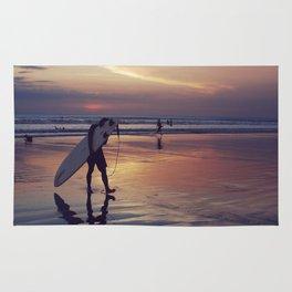 Surfer in Kuta Rug
