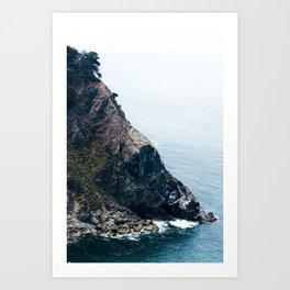 Ragged Point Art Print