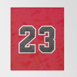 Michael 23 Jordan Chicago Bulls Throw Blanket