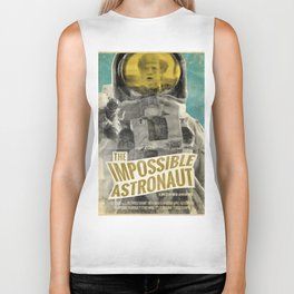 "Doctor Who ""The Impossible Astronaut"" Retro Movie Poster Biker Tank"