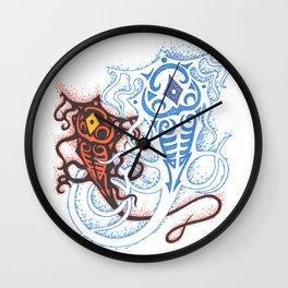 Raava and Vaatu Wall Clock