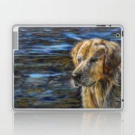One Wet Golden Retriever by Teresa Thompson Laptop & iPad Skin