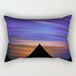 ESCAPE - Pyramids Silhouette Rectangular Pillow