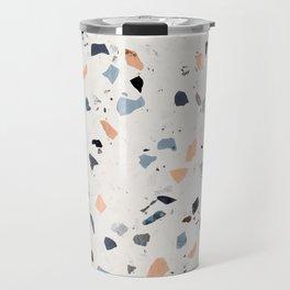 terrazzo pattern Travel Mug