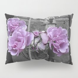 Industrial Roses Pillow Sham
