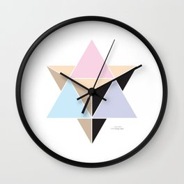 MI MERKABA - Light State Wall Clock