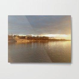 South Ferry Sunset II Metal Print