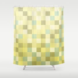Checks 001 Shower Curtain