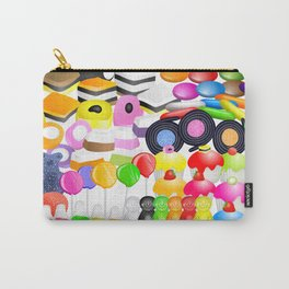 Tasty Candy Treats Carry-All Pouch