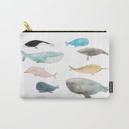 Group of whales Carry-All Pouch
