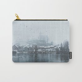 Snowy Castle Carry-All Pouch