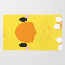 Yellow Chocobo Block Rug