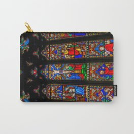 INRI Stained Glass Carry-All Pouch