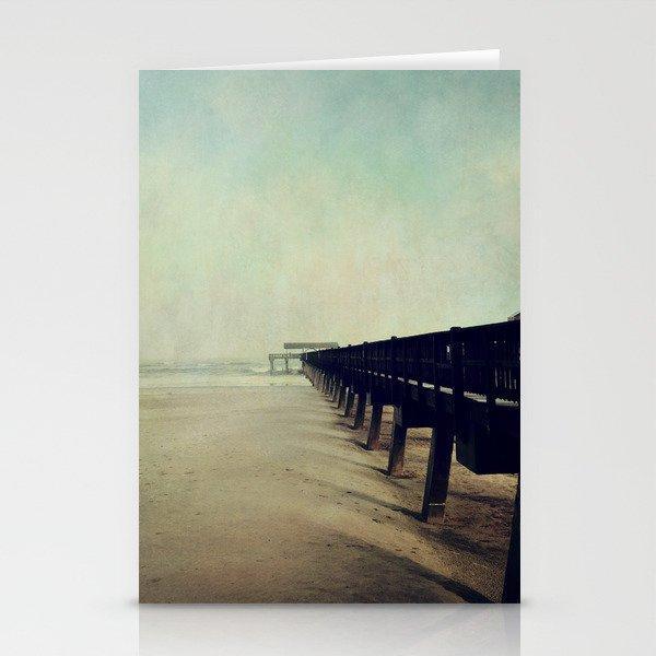 Seashore Pier Stationery Cards