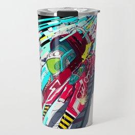 Faster than GAME OVER v1.0 +ART PRINT DESIGN+ Travel Mug