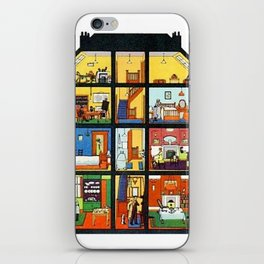 Vintage Doll House iPhone Skin