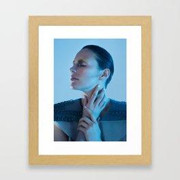 Human machine IIII Framed Art Print