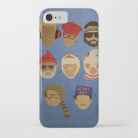 wes anderson iPhone & iPod Cases featuring Wes Anderson Hats by godzillagirl