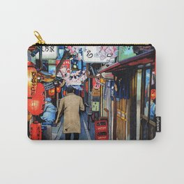 A Memory of Spring Carry-All Pouch