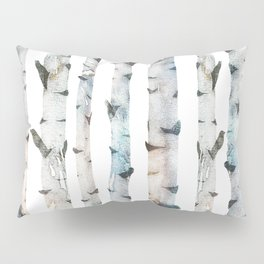 Birch Tree Pillow Sham