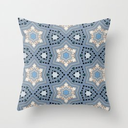 Oriental magic Throw Pillow