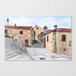 Village in Portugal Canvas Print