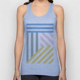 Summer stripes Unisex Tank Top