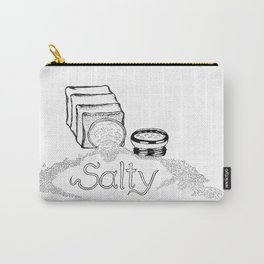 Salty - This Salt Shaker is Wide Open - Comic Carry-All Pouch