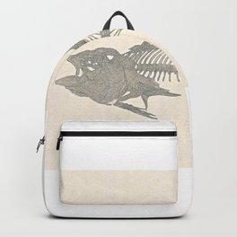 Tunafish Skeleton Drawing Backpack