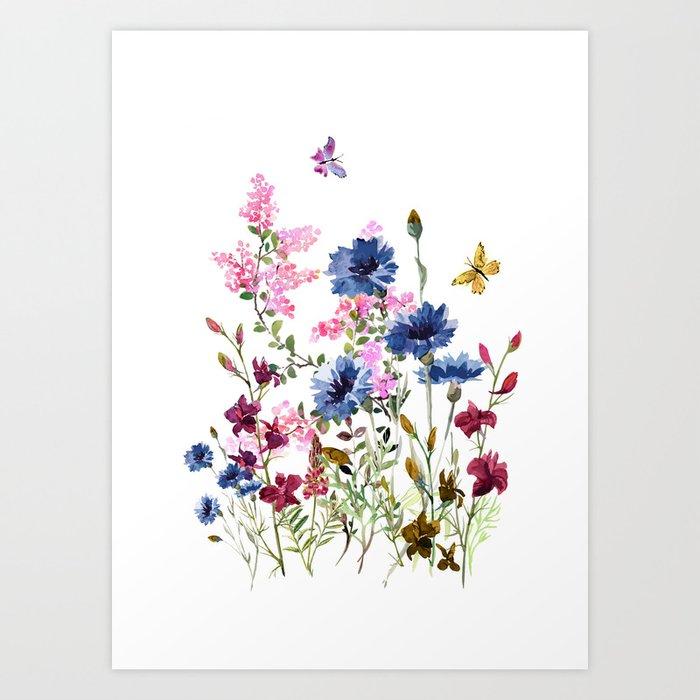Wildflowers IV Kunstdrucke