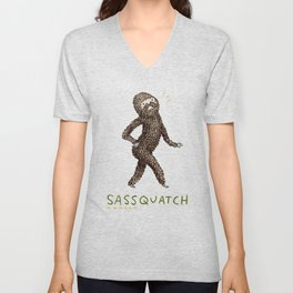 Sassquatch Unisex V-Neck