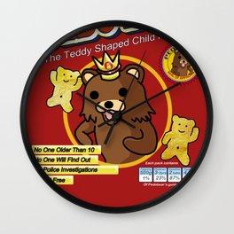 Pombear / Pedobear Crisps Wall Clock