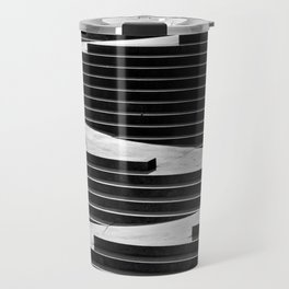 Geometric Abstraction Travel Mug