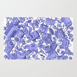 Retro Gamer - Blue Rug