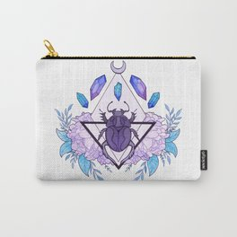 Scarab Queen Carry-All Pouch