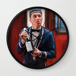 Champagne? - Tim Roth And Four Rooms Wall Clock