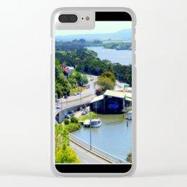 West Tamar Highway Launceston Tasmania Australia Clear iPhone Case