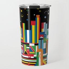Flagscapes: World Cityscape Travel Mug