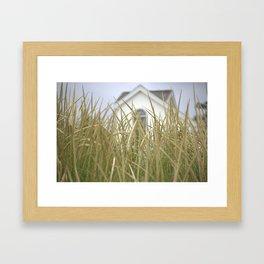 A scene From The Lake Framed Art Print