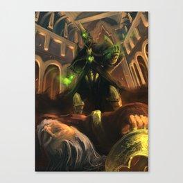 Dark Priest Canvas Print