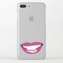 La Bouche Clear iPhone Case