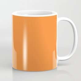 Tangerine - Solid Color Collection Coffee Mug