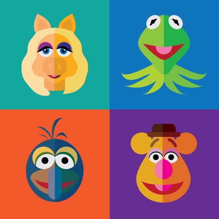 Muppet Minimalism Duvet Cover