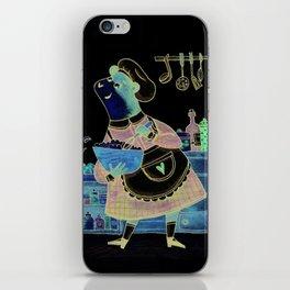 Art Prints - Bear - Cute animals - Kitchen - cook room - Wall Decor - cuisine - Wall Decor iPhone Skin