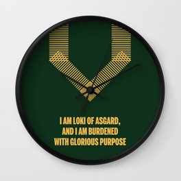 Loki Avenger Wall Clock