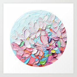 Yoshino Petals Art Print