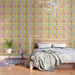 Flip Flops Pattern Wallpaper