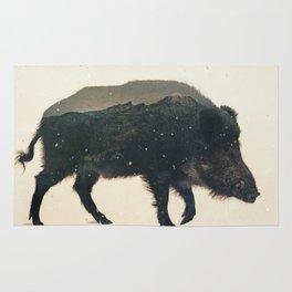 Veluwe: Wild Boar Rug