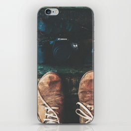 SHOES - CANON - CAMERA - PHOTOGRAPHY iPhone Skin