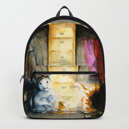 Closet therapy with Super Pig  Backpack